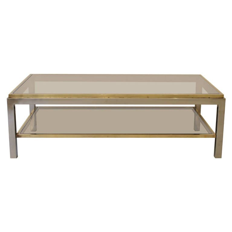 Flaminia Coffee Table By Willy Rizzo 1972 For Sale At Pamono