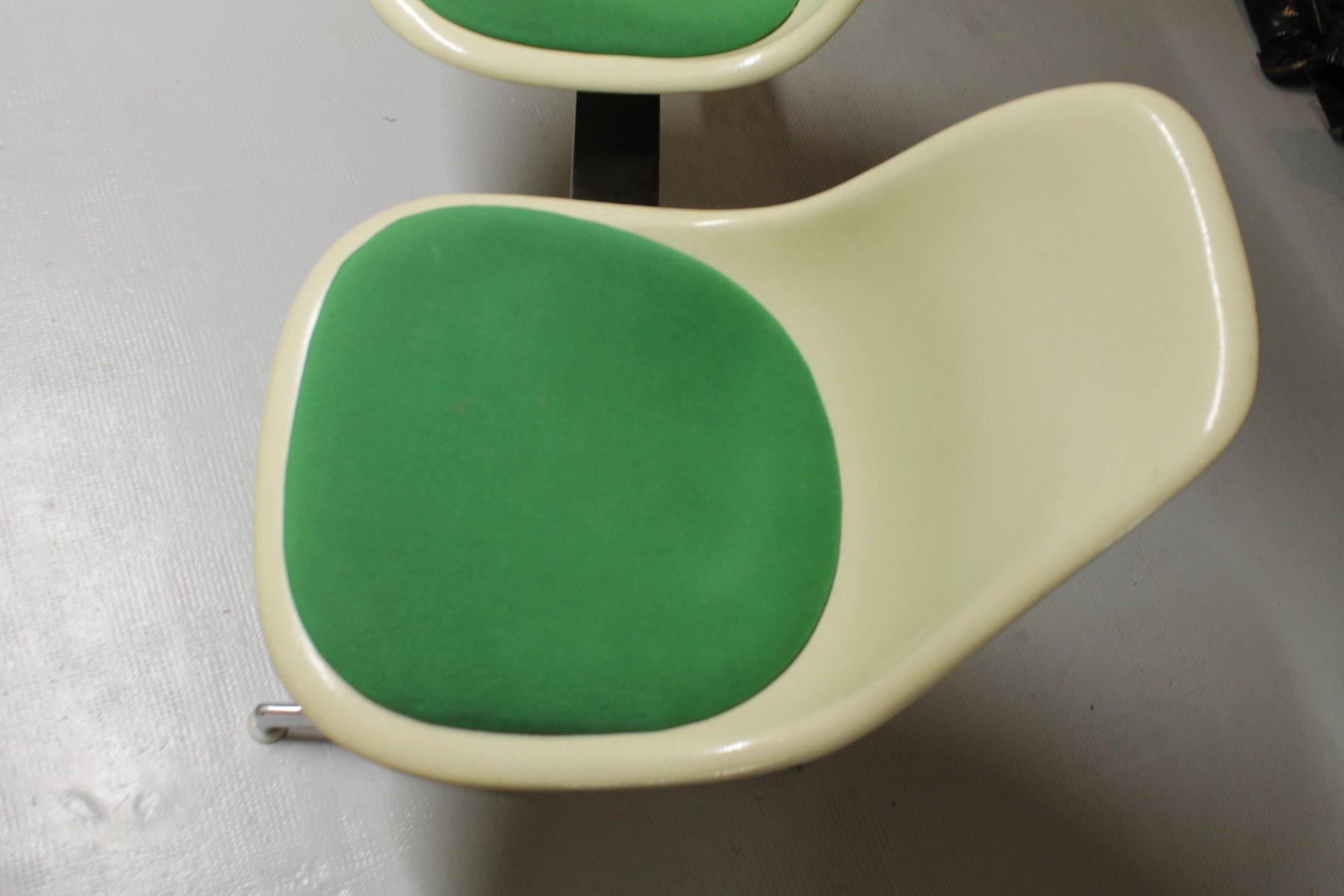 fiberglas bank von charles ray eames 1960er bei pamono kaufen. Black Bedroom Furniture Sets. Home Design Ideas