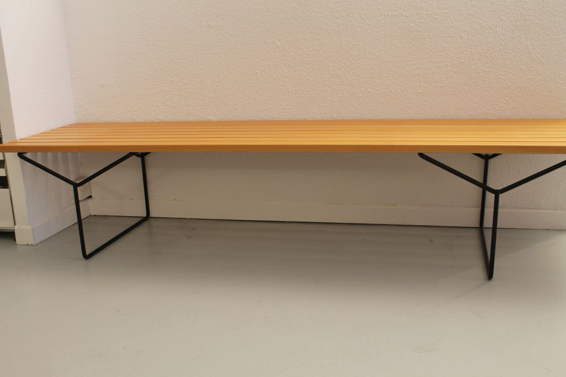 Vintage Bench By Harry Berto A For Knoll 1980s For Sale