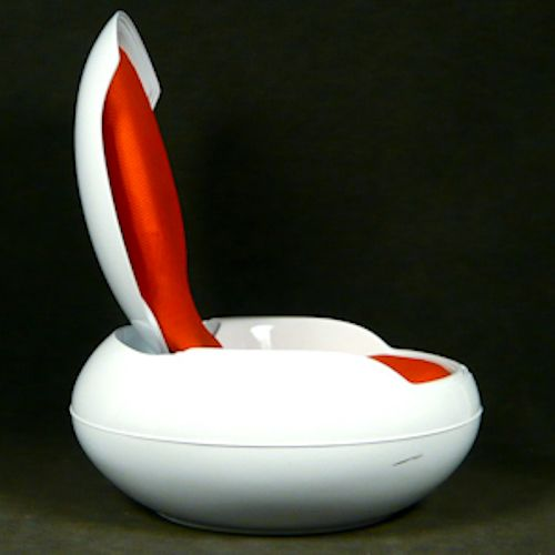 garden egg chair by peter ghyczy for sale at pamono. Black Bedroom Furniture Sets. Home Design Ideas