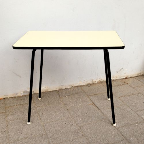 Vintage formica kitchen table 1950s for sale at pamono - Formica top kitchen table ...