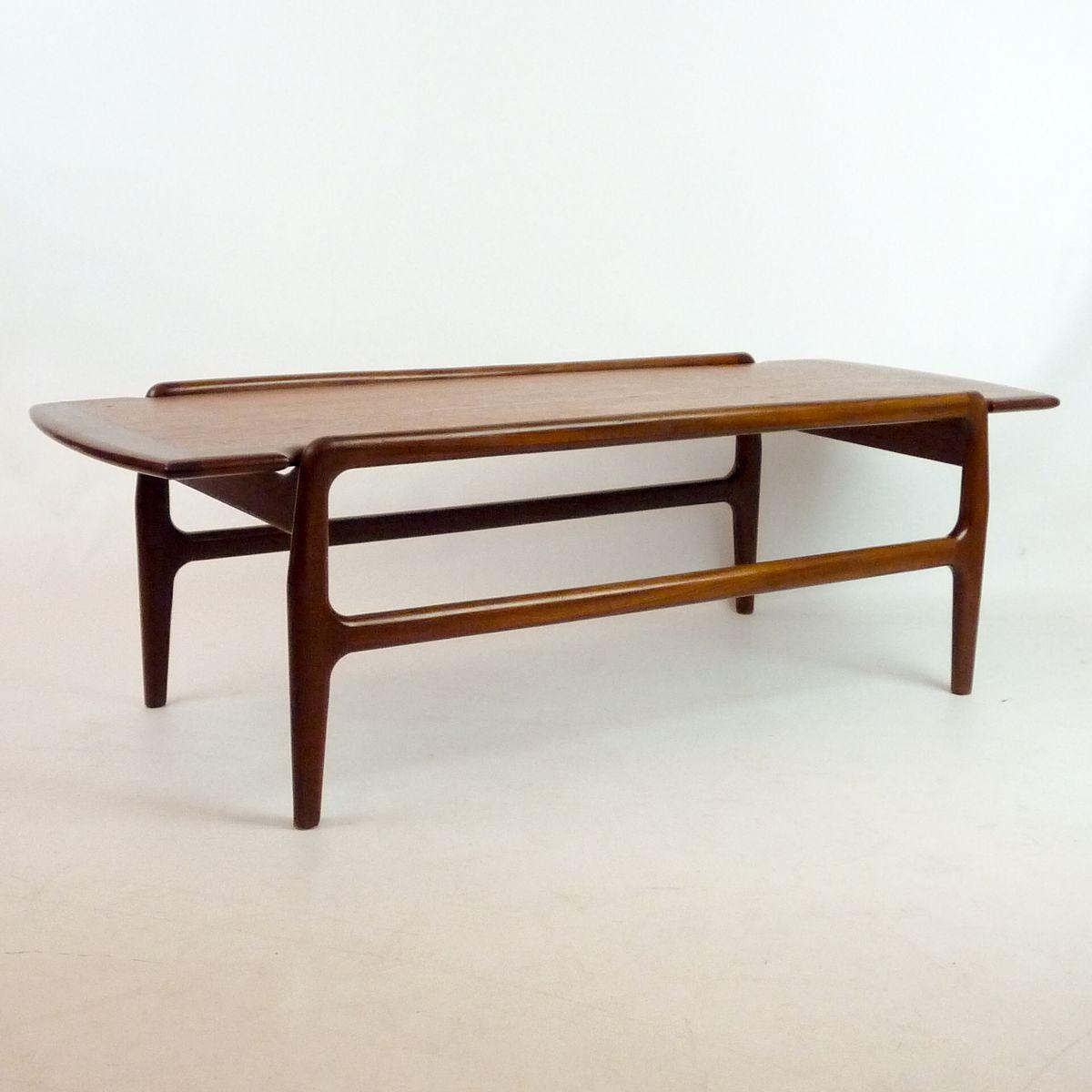 Scandinavian Teak Coffee Table 1950s For Sale At Pamono