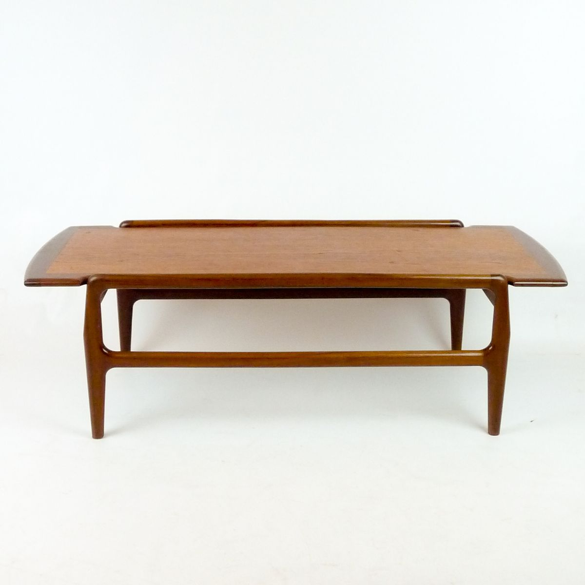 Scandinavian teak coffee table 1950s for sale at pamono for Teak coffee table