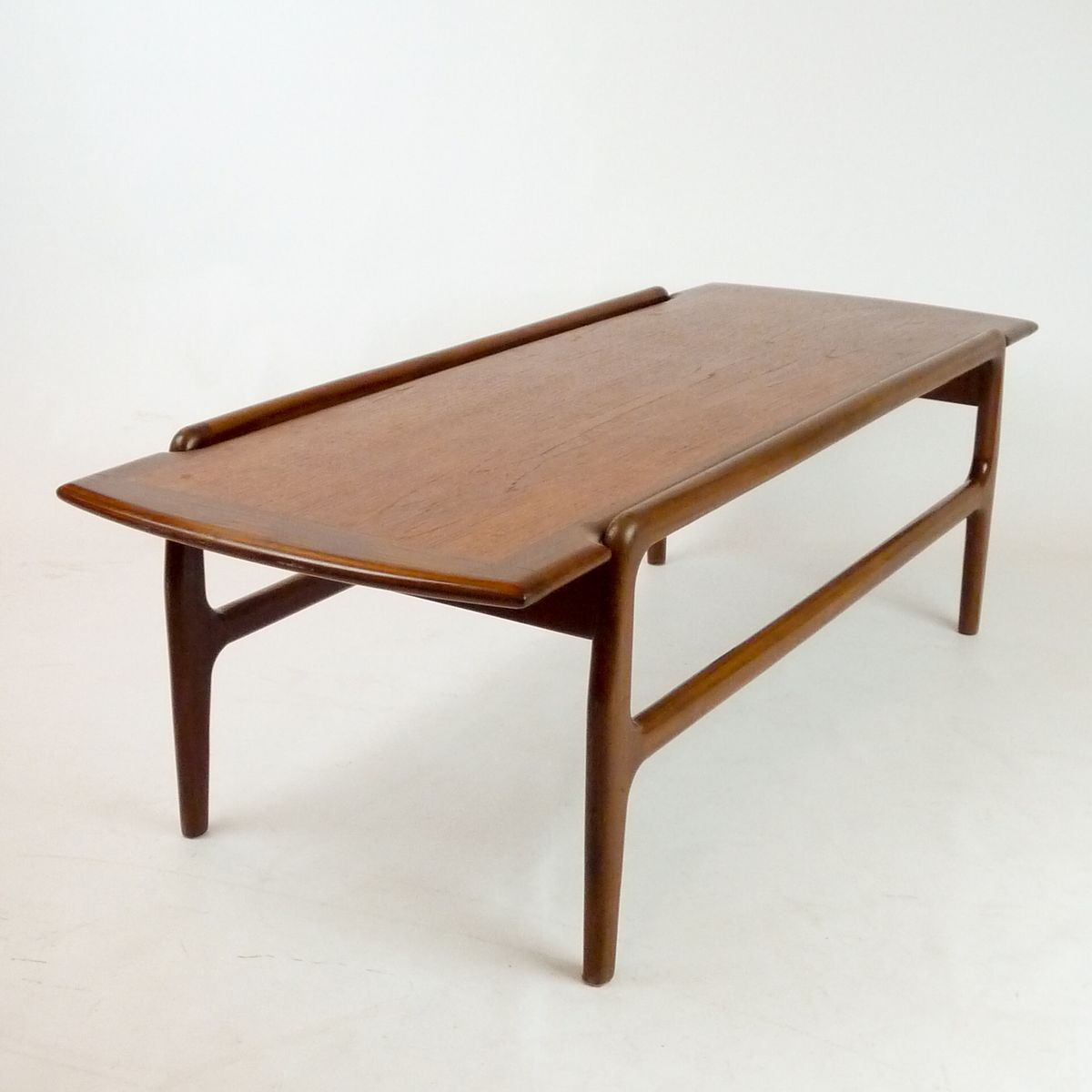 scandinavian teak coffee table 1950s for sale at pamono. Black Bedroom Furniture Sets. Home Design Ideas