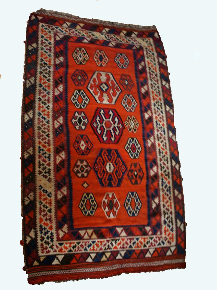 vintager persischer kilim teppich bei pamono kaufen. Black Bedroom Furniture Sets. Home Design Ideas