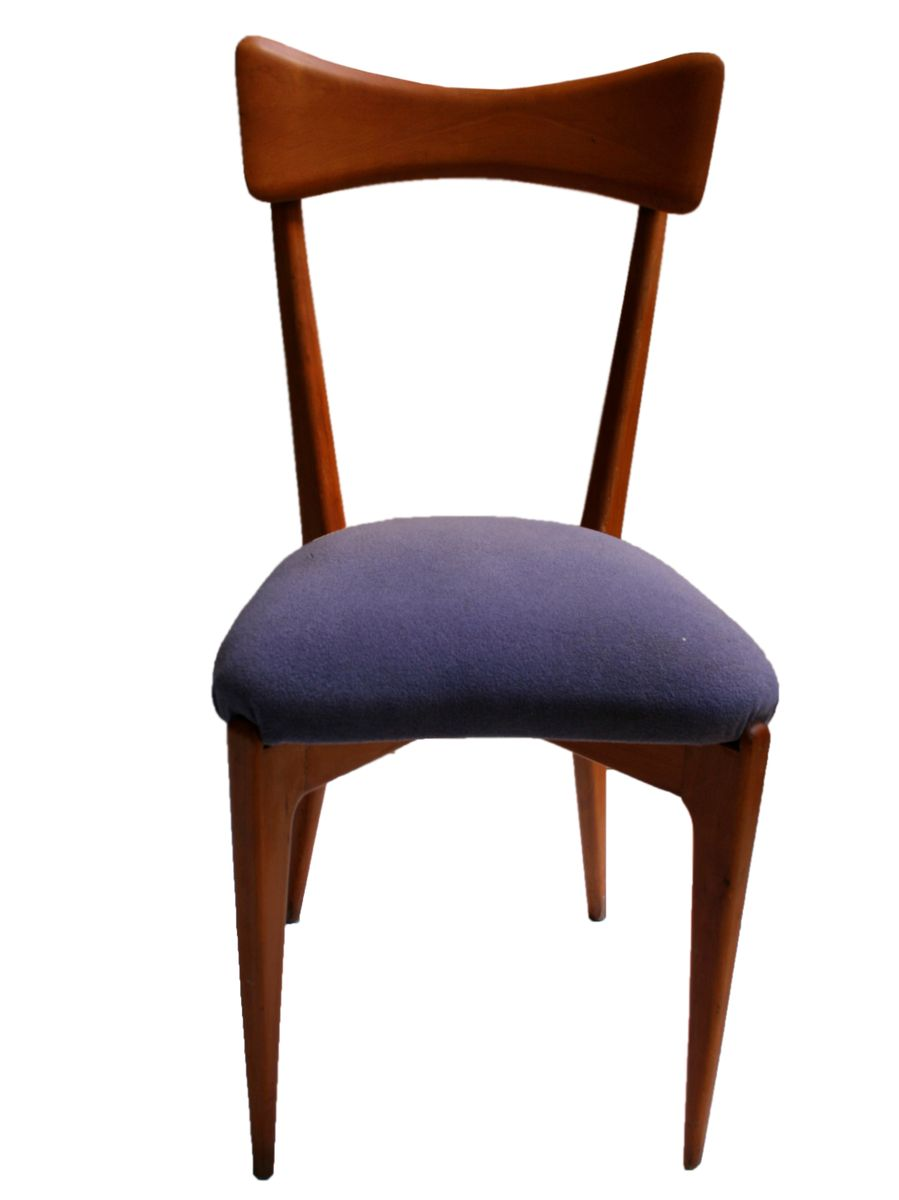 Mid Century Beech Chairs Set Of 4 For Sale At Pamono