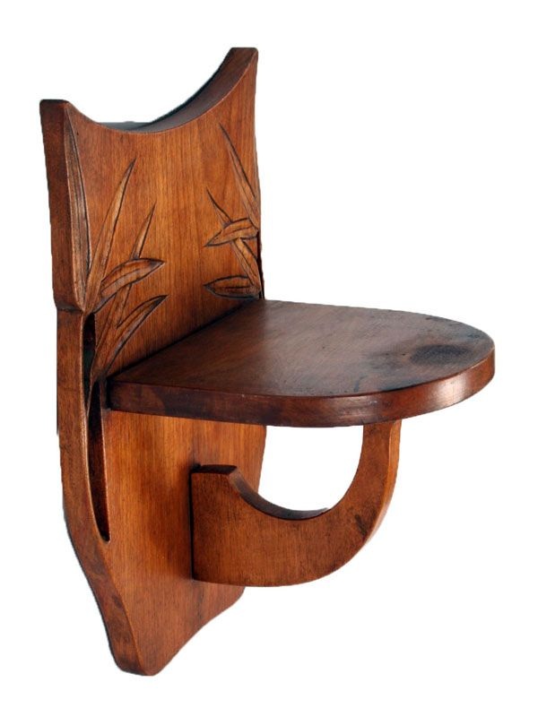 antikes wandregal aus holz bei pamono kaufen. Black Bedroom Furniture Sets. Home Design Ideas