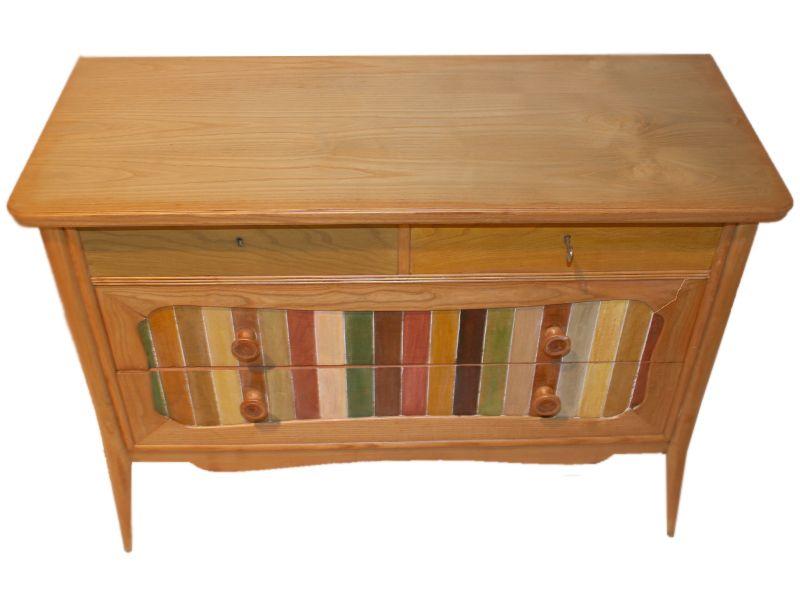 mid century kommode mit barocker form bei pamono kaufen. Black Bedroom Furniture Sets. Home Design Ideas