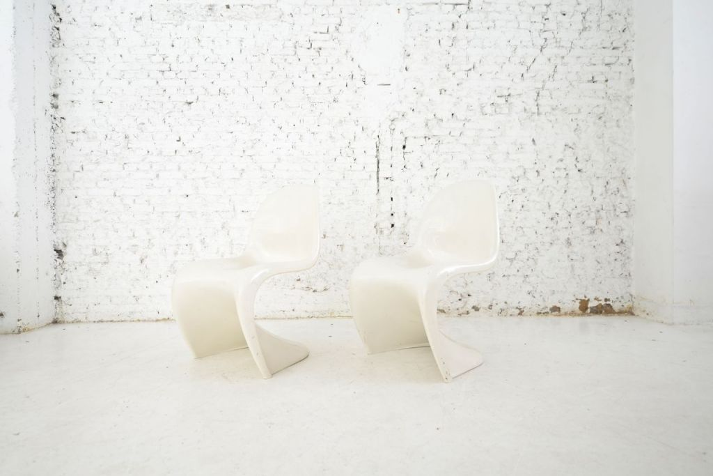 s stuhl von verner panton 1970er bei pamono kaufen. Black Bedroom Furniture Sets. Home Design Ideas