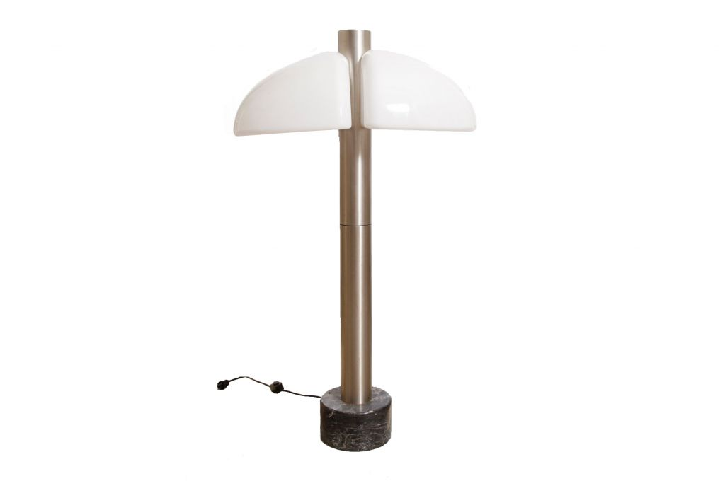 wei e italienische stehlampe bei pamono kaufen. Black Bedroom Furniture Sets. Home Design Ideas