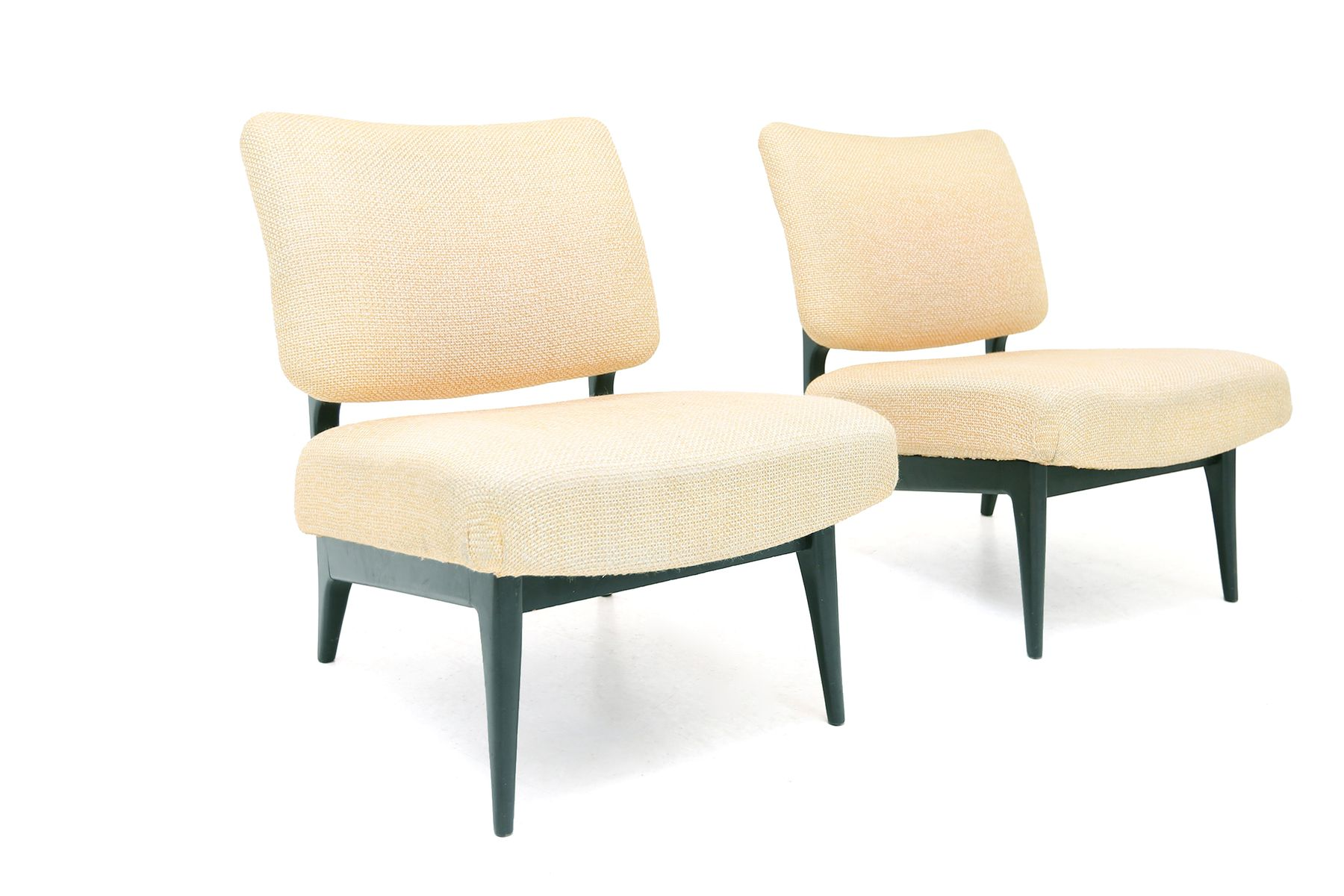 Modernist Belgian Lounge Chairs Set Of 2 For Sale At Pamono