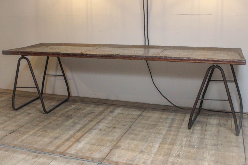 vintage industrie tisch deutschland bei pamono kaufen. Black Bedroom Furniture Sets. Home Design Ideas