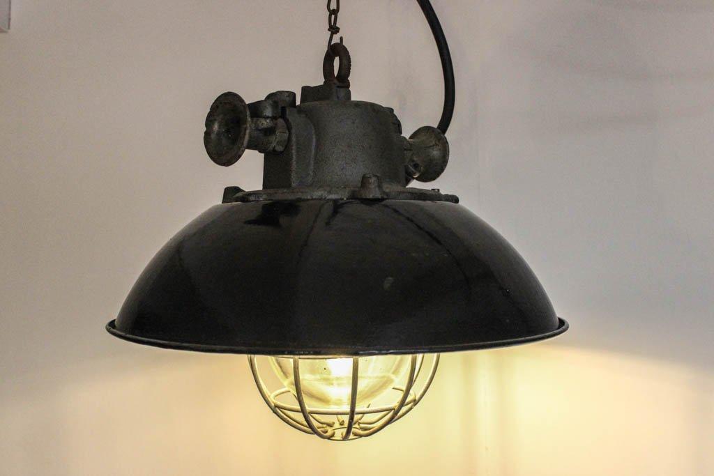 vintage industrie h ngelampe 1970er bei pamono kaufen. Black Bedroom Furniture Sets. Home Design Ideas