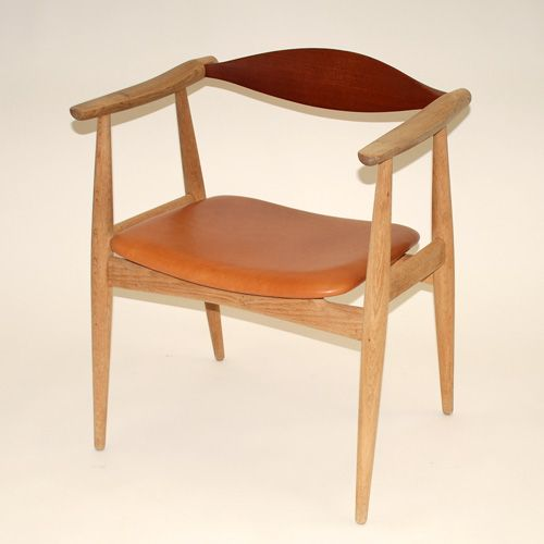 vintage ch35 stuhl von hans j wegner f r carl hansen 1960 bei pamono kaufen. Black Bedroom Furniture Sets. Home Design Ideas