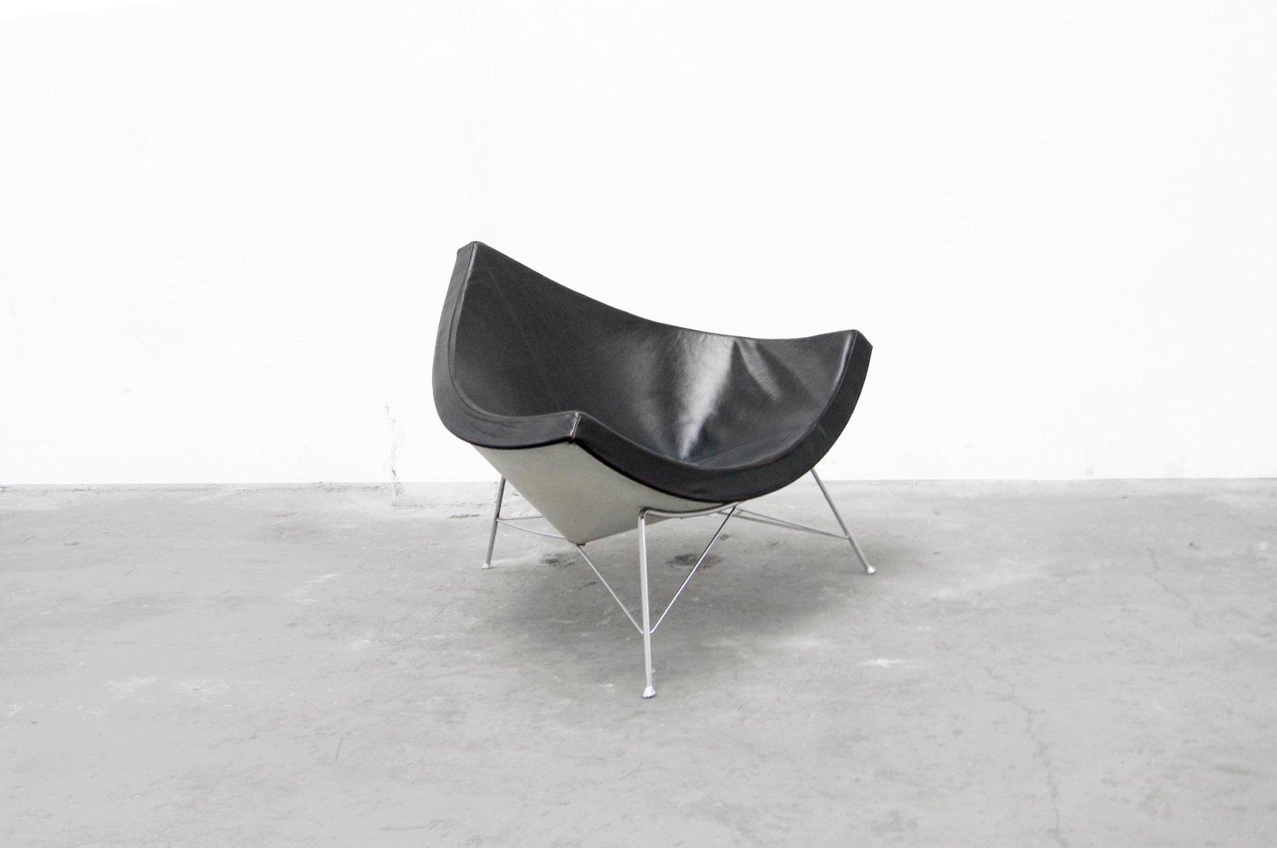 kokosnuss stuhl von george nelson f r herman miller 1955 bei pamono kaufen. Black Bedroom Furniture Sets. Home Design Ideas