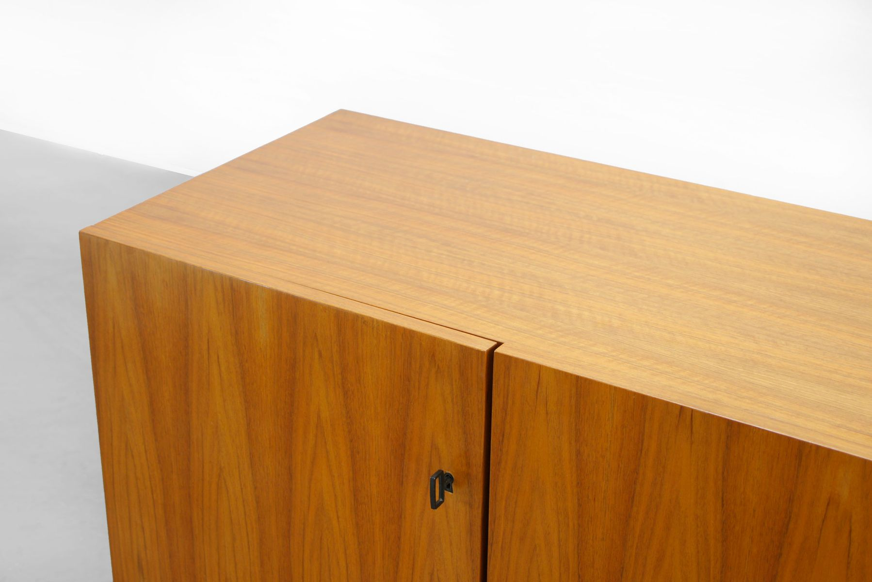 mid century walnut sideboard from musterring 1960s for. Black Bedroom Furniture Sets. Home Design Ideas