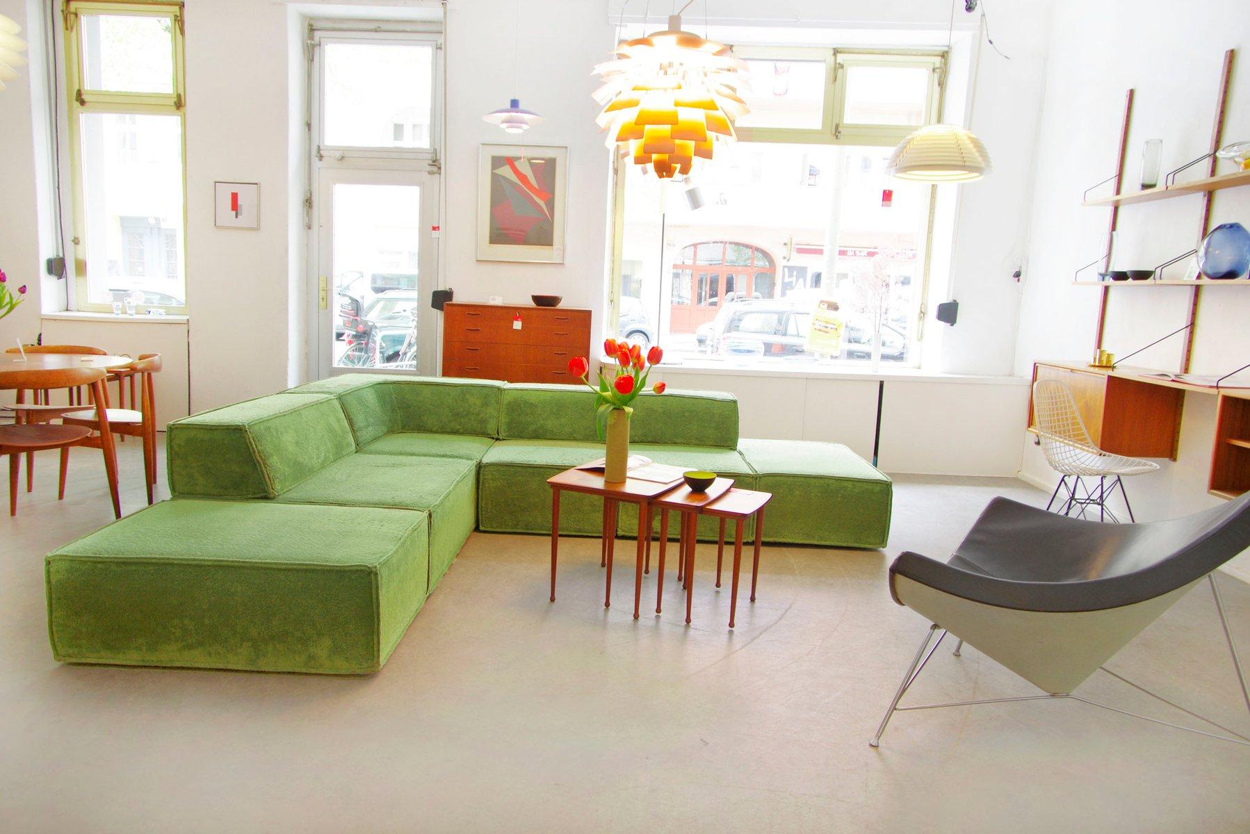 modulares ecksofa von form ag f r cor 1972 bei pamono kaufen. Black Bedroom Furniture Sets. Home Design Ideas