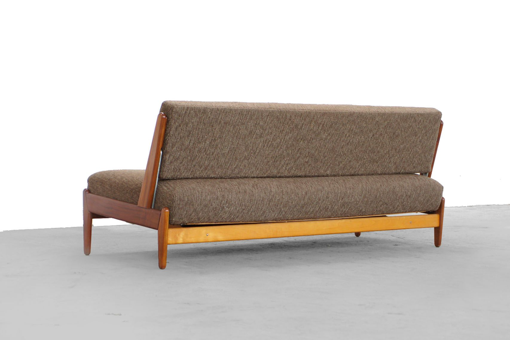 teak sofa by hans olsen f r frem rojle 1955 for sale at. Black Bedroom Furniture Sets. Home Design Ideas