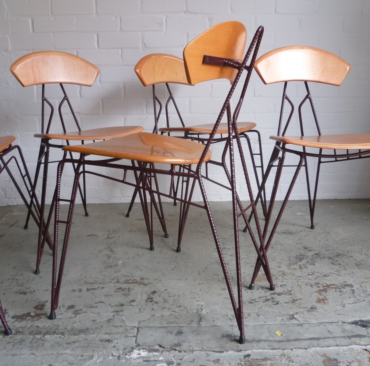 industrial chair by jan stigt for sale at pamono. Black Bedroom Furniture Sets. Home Design Ideas