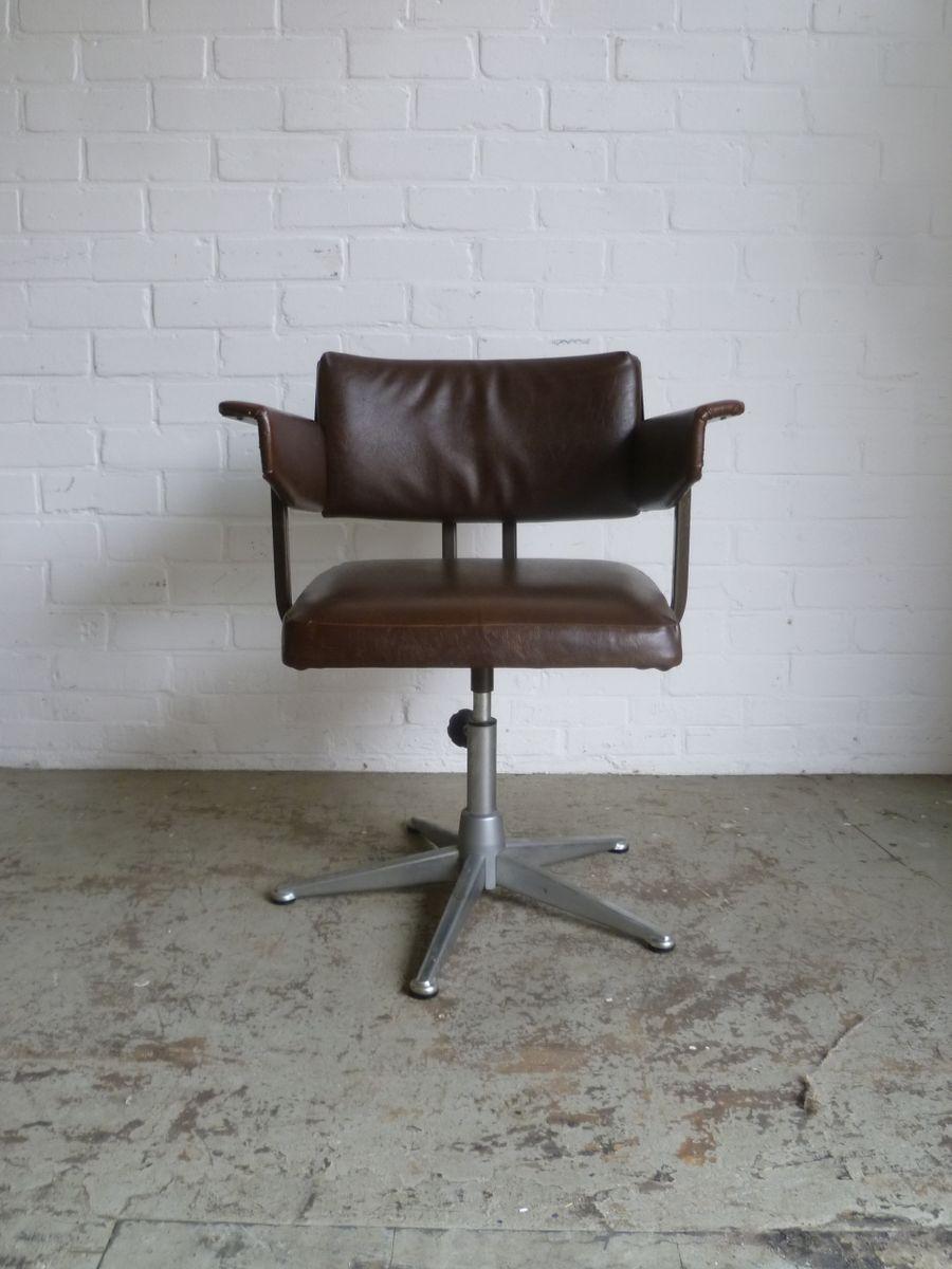 schreibtisch stuhl von friso kramer f r ahrend de cirkel 1960 bei pamono kaufen. Black Bedroom Furniture Sets. Home Design Ideas