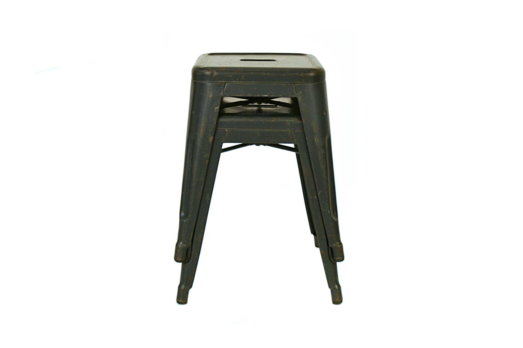 vintage french stool by xavier pauchard for tolix for sale. Black Bedroom Furniture Sets. Home Design Ideas
