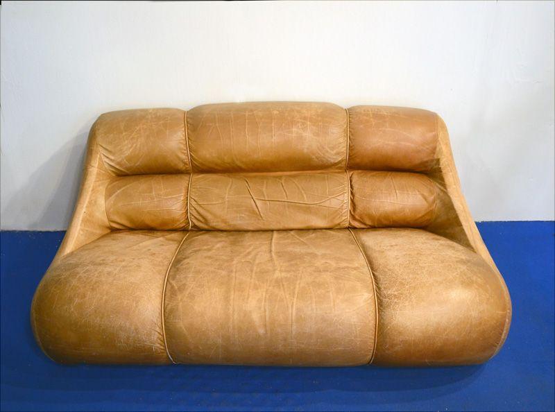 Canap ciuingam par de pas d 39 urbino lomazzi 1967 en vente - Le nastro sofa par pierantonio bonacina ...