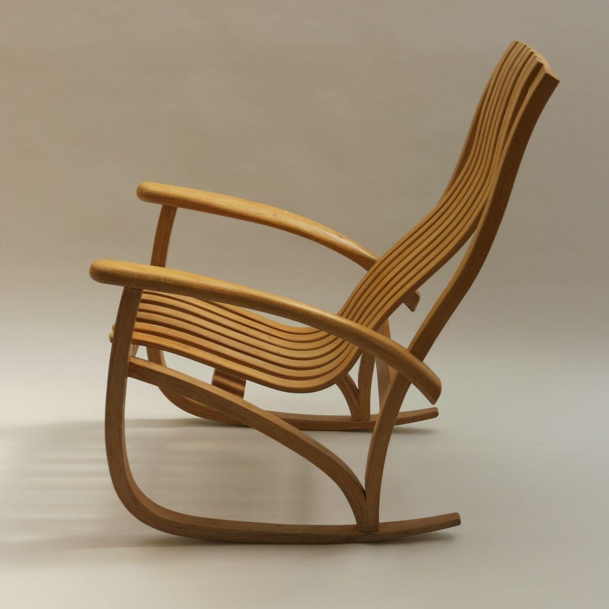 platane schaukelstuhl 1970er bei pamono kaufen. Black Bedroom Furniture Sets. Home Design Ideas