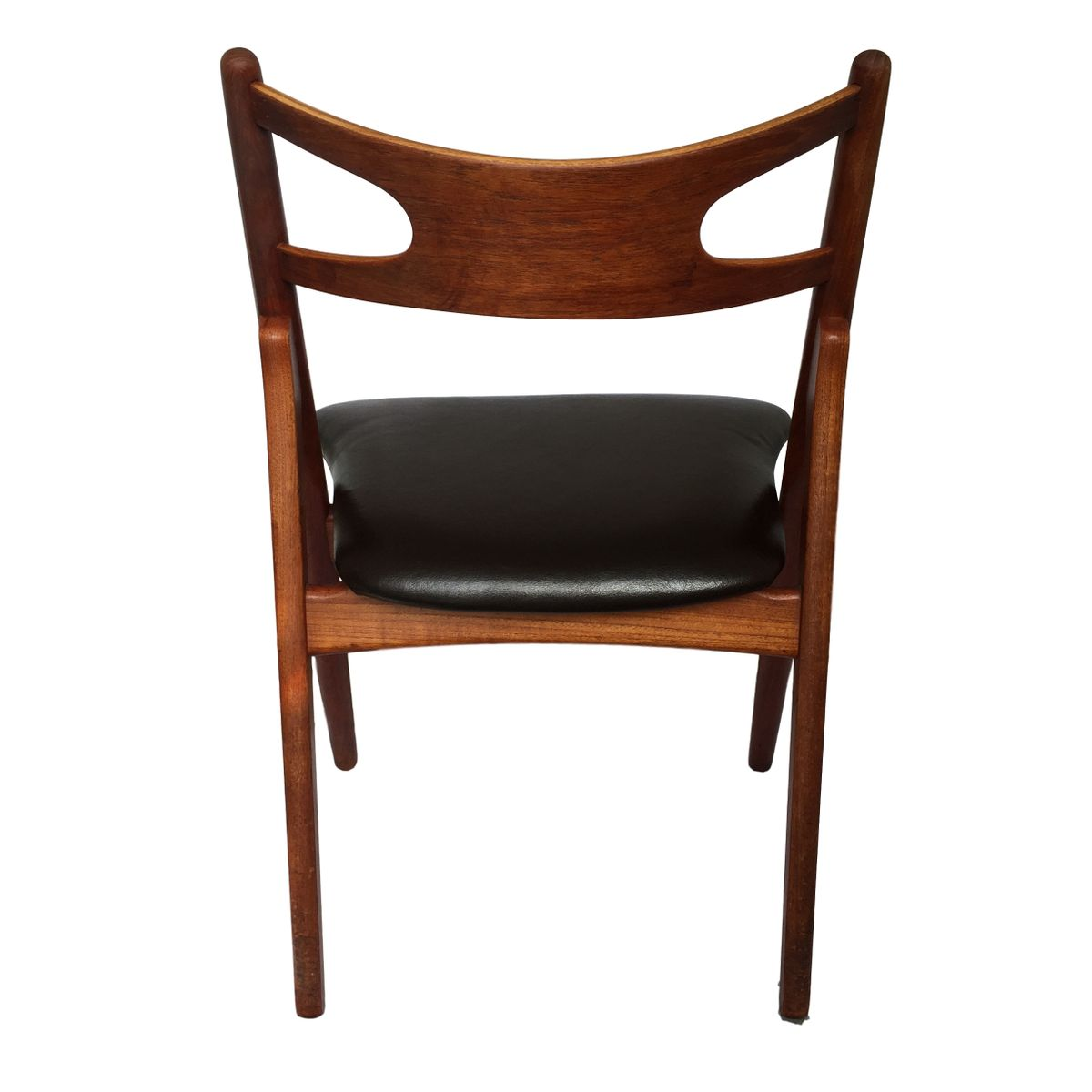 ch 29 s gebock st hle aus teak von hans wegner f r carl hansen s n 1950er 12er set bei. Black Bedroom Furniture Sets. Home Design Ideas