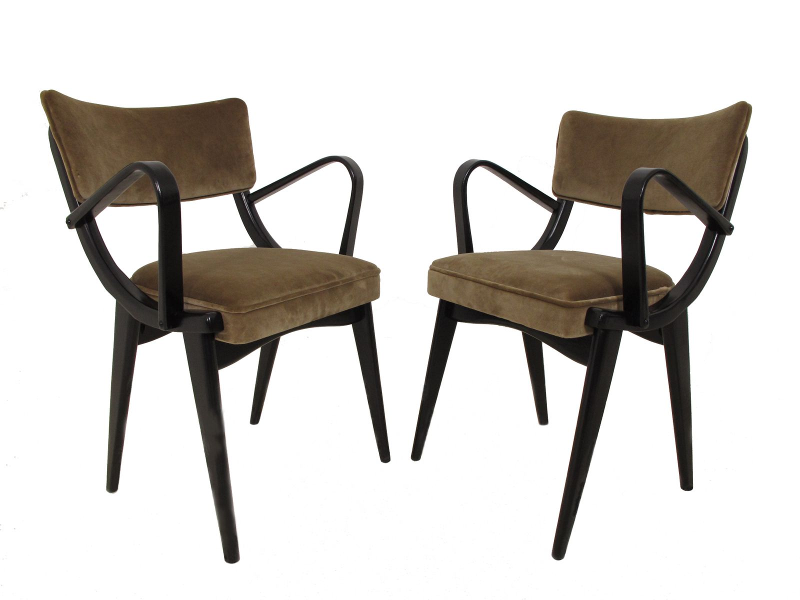 Mid Century Dining Chairs By Ben Chairs Ltd 1960s Set Of