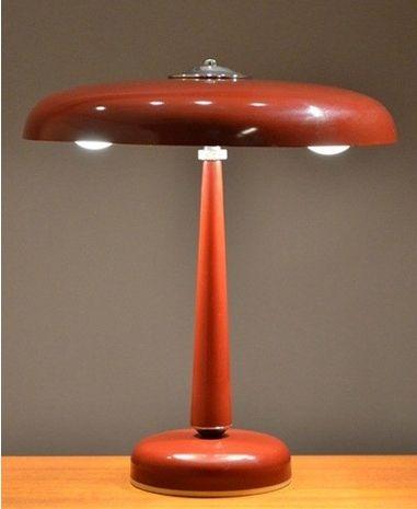 lampe de bureau art d co bordeaux en vente sur pamono. Black Bedroom Furniture Sets. Home Design Ideas