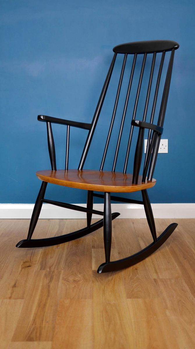 Danish Rocking Chair from Farstrup Mobler for sale at Pamono