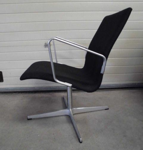 oxford lounge chair by arne jacobsen for fritz hansen for. Black Bedroom Furniture Sets. Home Design Ideas