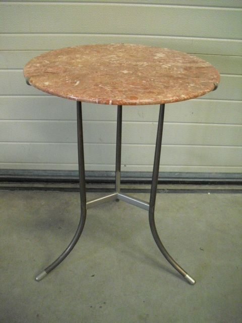 Vintage Side Table by Cedric Hartman 1970s for sale at Pamono