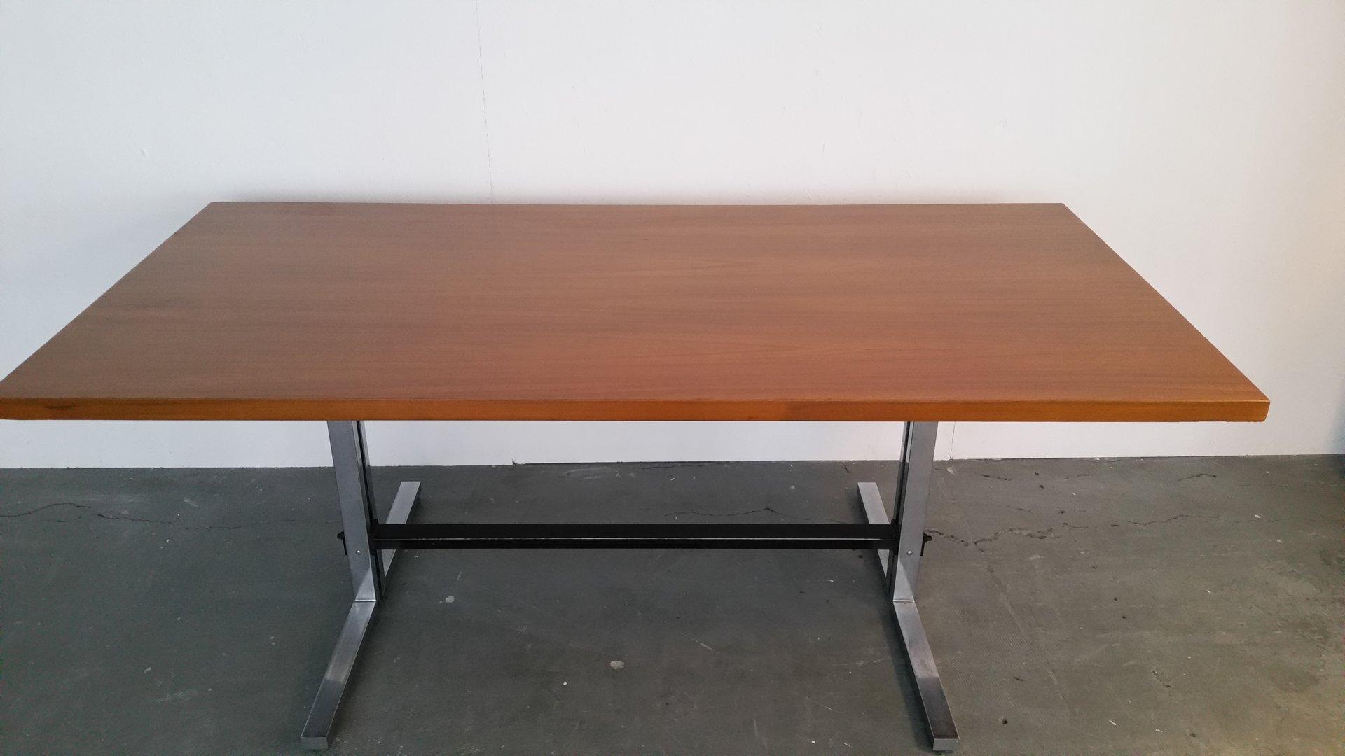 gro er skandinavischer esstisch bei pamono kaufen. Black Bedroom Furniture Sets. Home Design Ideas