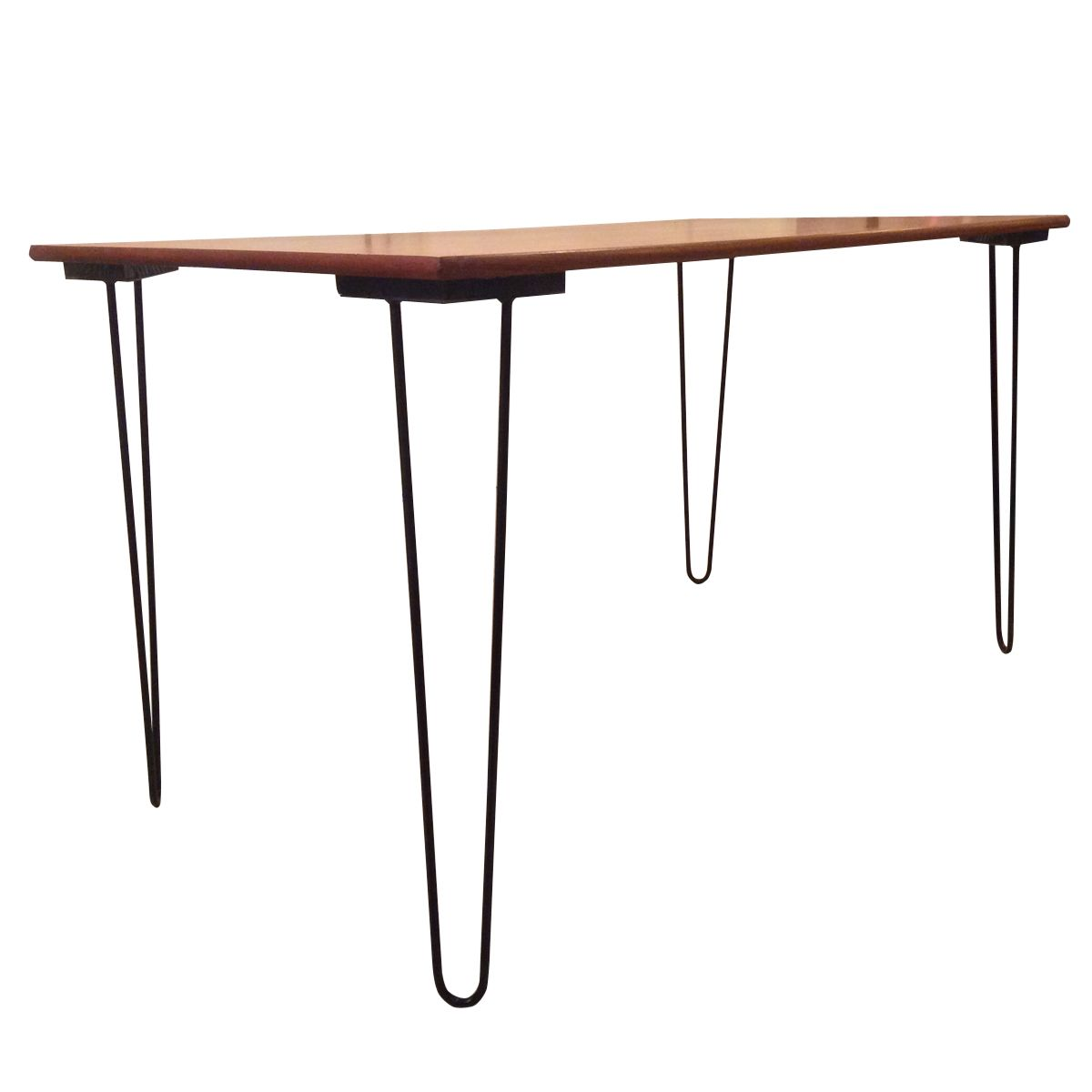 dining table with hairpin legs 1960s for sale at pamono