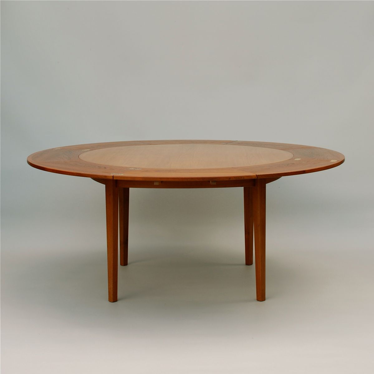 Flip Flap Lotus Dining Table From Dyrlund 1960s For Sale