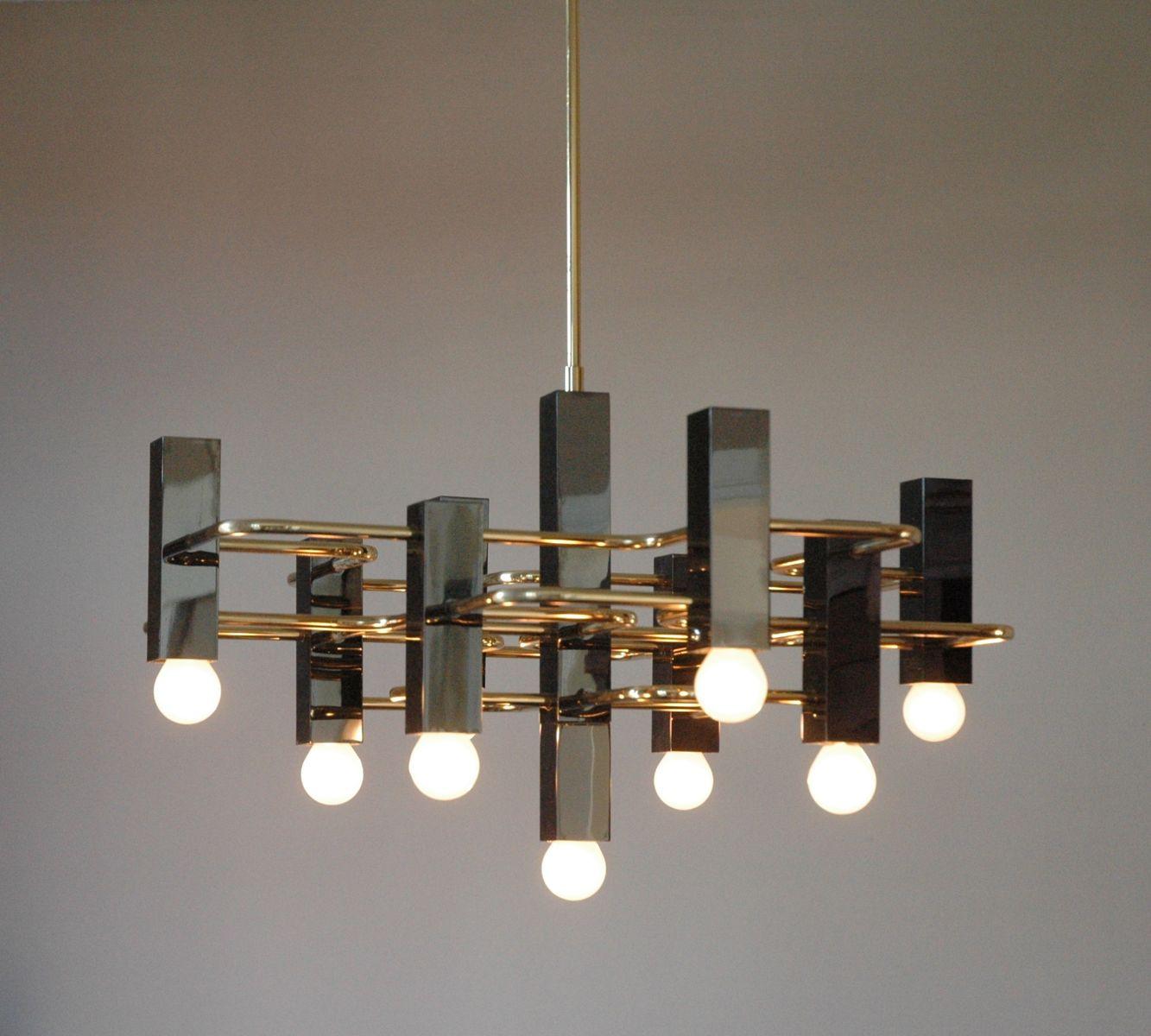 vintage chandelier from boulanger pamono. Black Bedroom Furniture Sets. Home Design Ideas