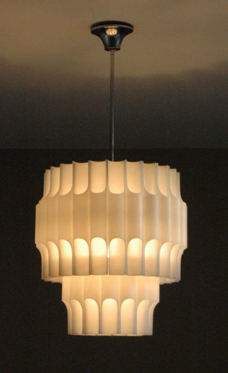 Vintage Pendant Lamp by Bent Karlby for ASK Belysning for sale at ...