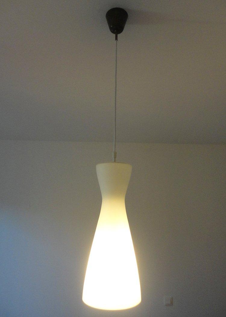 Lampe suspension vintage en verre 1960s en vente sur pamono - Lampe suspension vintage ...