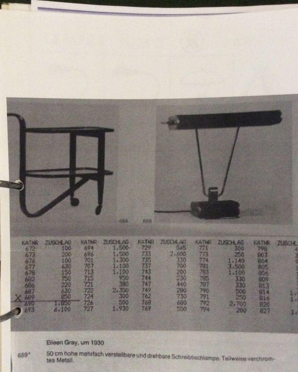 lampe de bureau art d co pour jumo. Black Bedroom Furniture Sets. Home Design Ideas