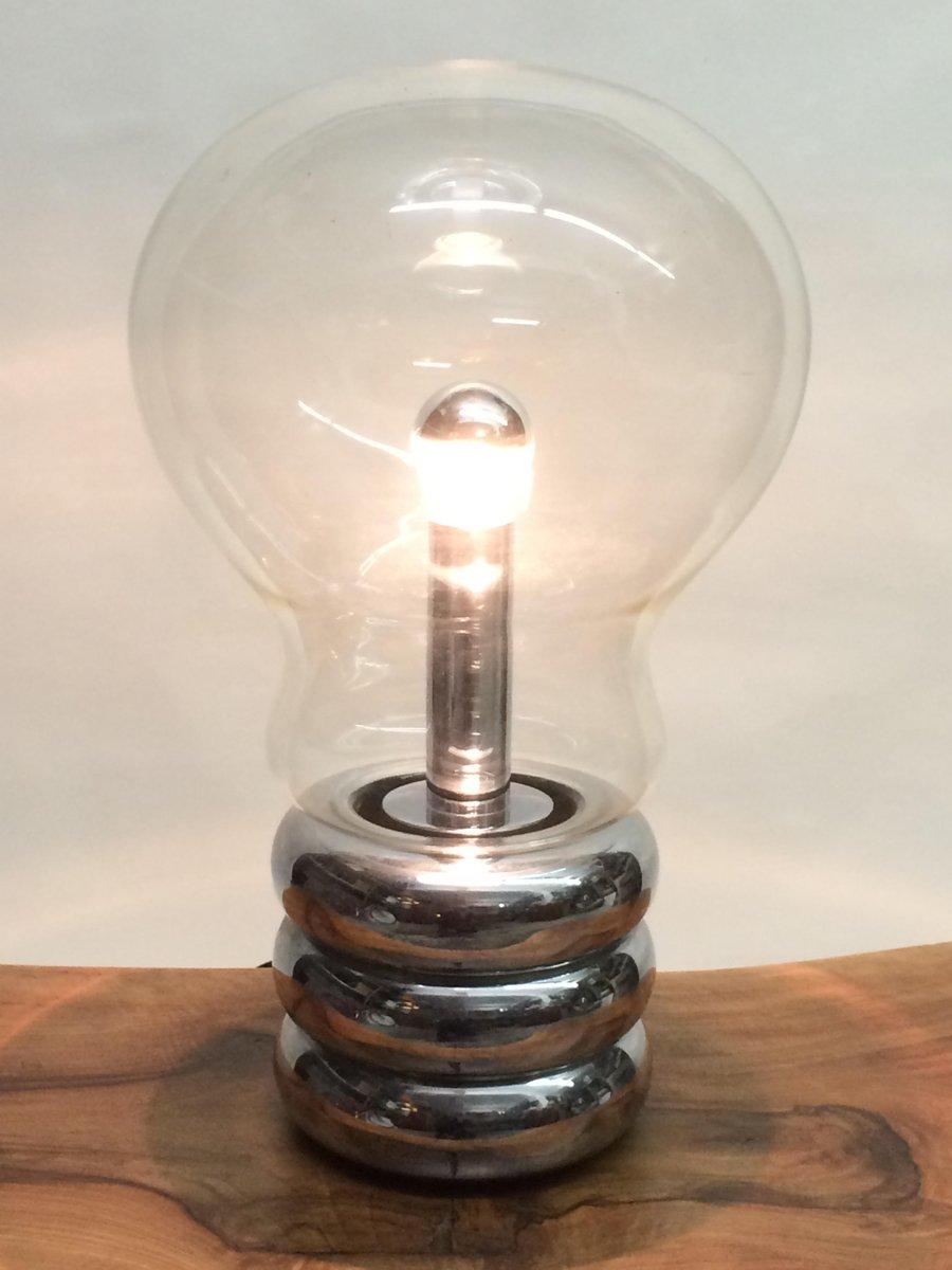 klare bulb tischlampe von ingo maurer f r m desgin bei pamono kaufen. Black Bedroom Furniture Sets. Home Design Ideas