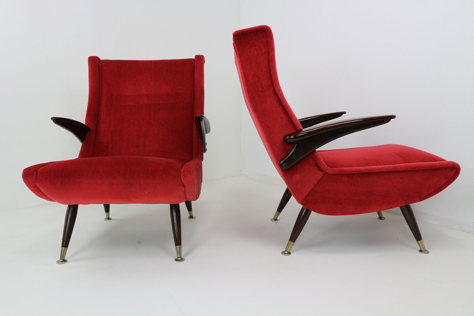 Italian vintage armchairs set of 2 for sale at pamono for 2 armchairs for sale
