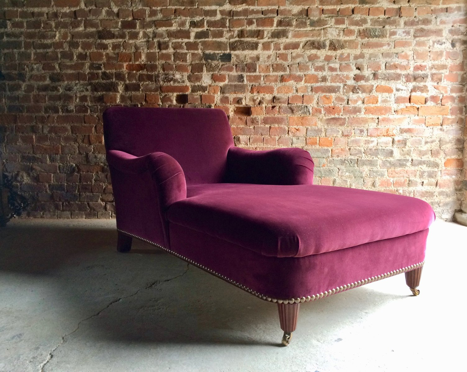Bohemian chaise longue sofa by ralph lauren 2000s for for Chaise furniture sale