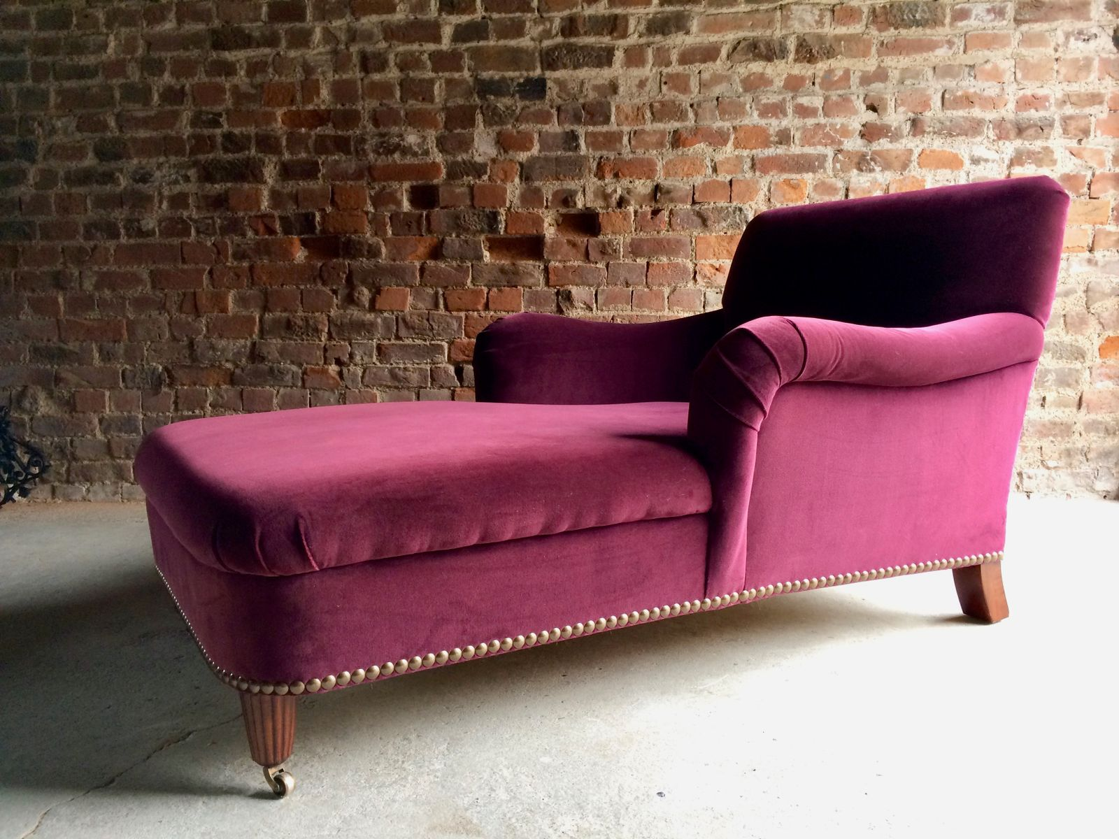 Bohemian chaise longue sofa by ralph lauren 2000s for for Chaise longue style sofa