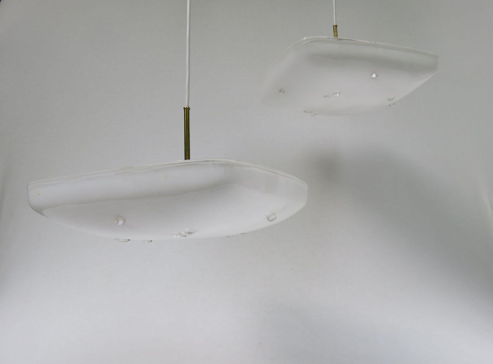 kaskaden deckenlampe mit zwei leuchten bei pamono kaufen. Black Bedroom Furniture Sets. Home Design Ideas