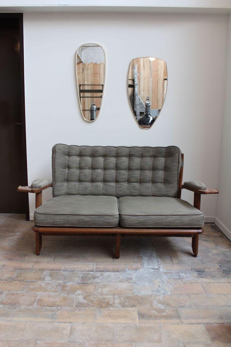 mid century living room set by guillerme et chambron for votre maison for sale at pamono. Black Bedroom Furniture Sets. Home Design Ideas