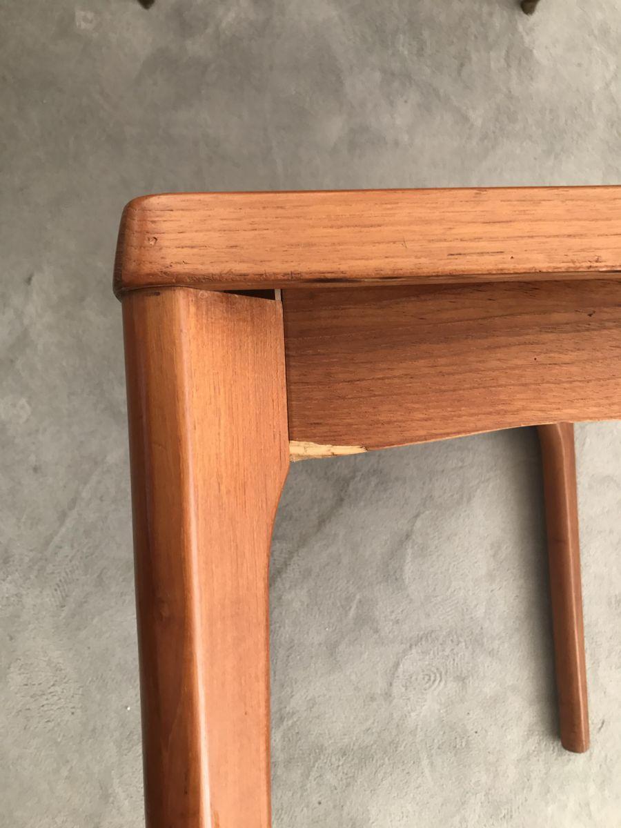 d nischer vintage teak beistelltisch von henning kjaernulf f r vejle stole m belfabrik bei. Black Bedroom Furniture Sets. Home Design Ideas