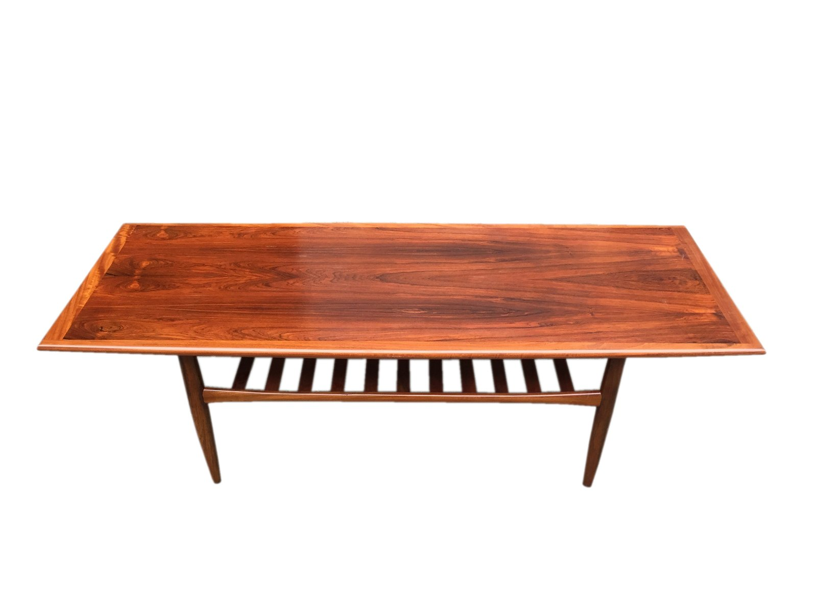 Mid Century Danish XL Palisander Coffee Table by Grete Jalk for