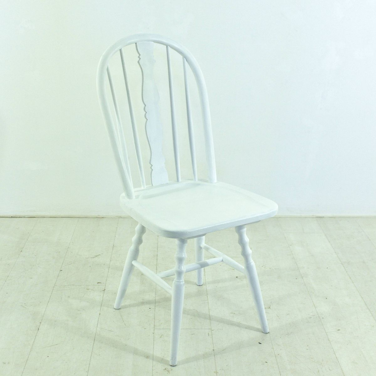 windsor st hle aus wei er buche 4er set bei pamono kaufen. Black Bedroom Furniture Sets. Home Design Ideas