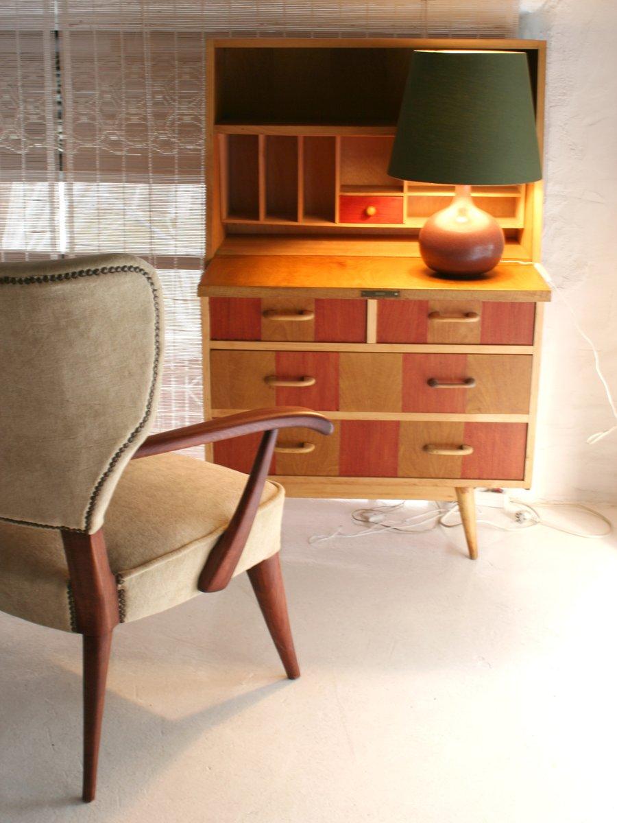 karierter mid century sekret r bei pamono kaufen. Black Bedroom Furniture Sets. Home Design Ideas